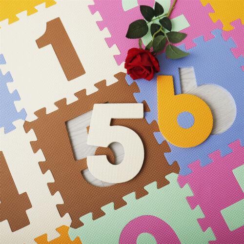 36Pcs Eva Foam Mat Soft Floor Tiles Interlocking Play Kids Baby Mats Gym 30X30cm