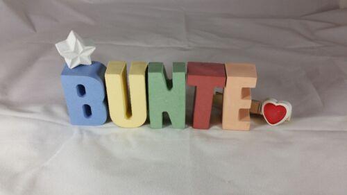 piedra fundición letras 3d decorativas nombre klarissa como regalo empacados! Hormigón