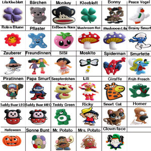 Anstecker-Pins-Button-fuer-Schuhe-passend-fuer-Crocs-clogs-jibbitz-NEU-G06