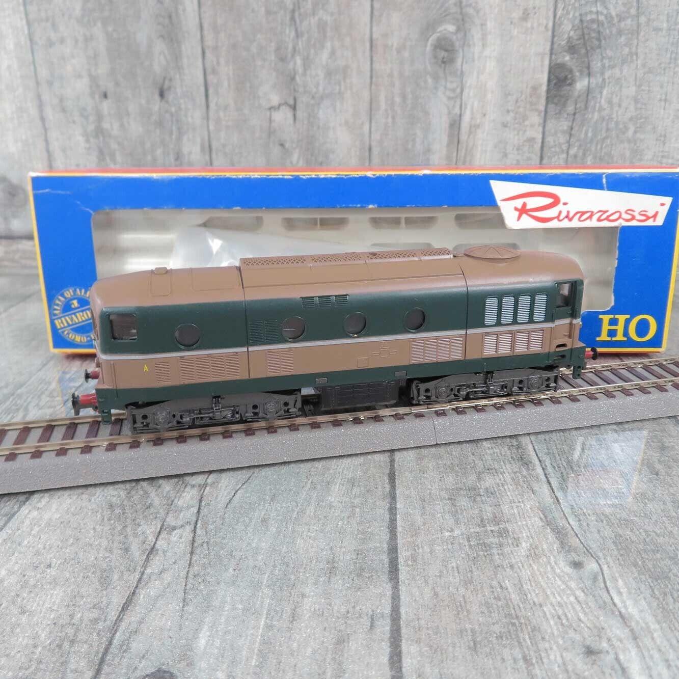 RIVAROSSI 1777 - HO - Diesellokomotive - FS -  D341 1017 - OVP -  A22947