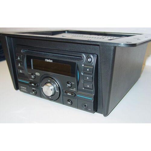 UNIVERSAL STEREO DOUBLE DIN UNDER DASH OVERHEAD RADIO MOUNTING INSTALLATION KIT