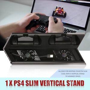 Ventola-DI-RAFFREDDAMENTO-STAND-verticale-con-doppia-stazione-di-ricarica-per-PS4-Pro-Accessori-DX