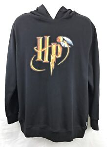 Harry-Potter-XL-Black-Sweat-Shirt-Hoodie-J-K-Rowling-Golden-Snitch-Quidditch