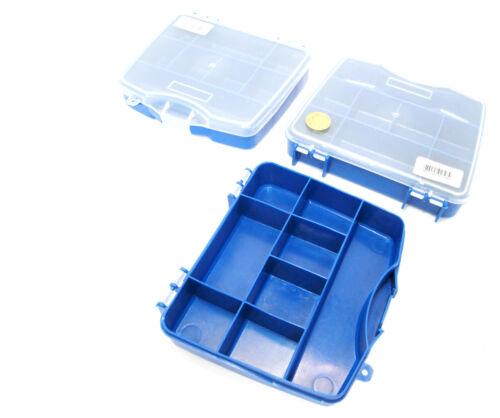 Petit organisateur de rangement Boîte à outils à 8 compartiments mini Ensemble de 3 TB089