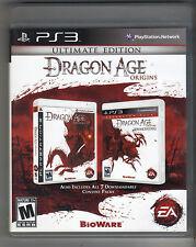 DRAGON AGE ORIGINS ULTIMATE EDITION PS3 PLAYSTATION 3