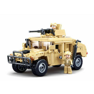 Humvee-Military-Army-Marines-Vehicle-Building-Block-Set-265pcs-USA-SELLER
