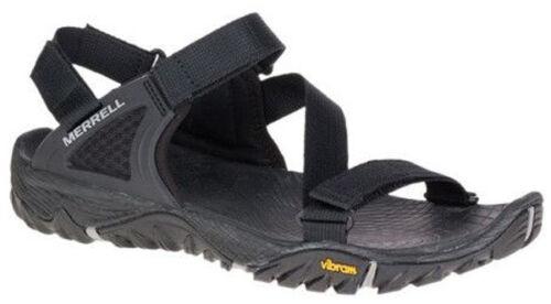 Merrell All Out Blaze Web Mens Black Summer Hiking Walking Beach Strap Sandals