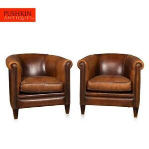 LATE-20TH-CENTURY-PAIR-OF-DUTCH-SHEEPSKIN-LEATHER-TUB-CHAIRS