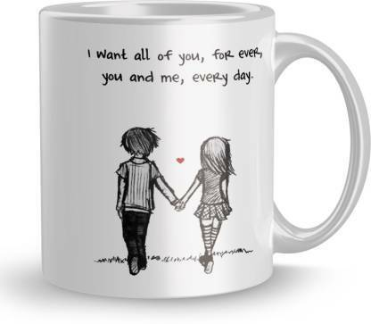 I Love my Girlfriend Boyfriend Valentines Gifts for Couples Coffee Mugs MCP110
