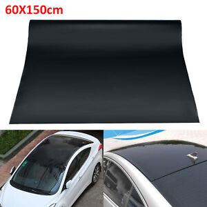 "24/"" x 60/"" Glossy Vinyl Car Roof Wrap Sheet Roll Film Sticker Decal Free Bubble"