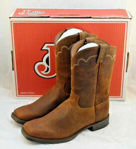 Rugged Tan Cow 3904 Men S Western Boots