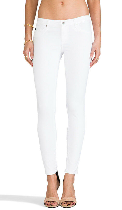 Adriano goldschmied White The Legging Ankle Jean NWT  28