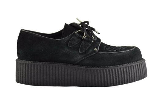 Casual Creepers Black Suede Sc300z4 Sole Rock D Shoes Steel High Ground Ring WPpnwfnxz