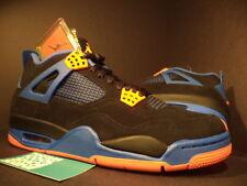 Nike Air Jordan IV 4 Retro BLACK ORANGE BLUE CEMENT CAVS LAST SHOT 308497-027 11