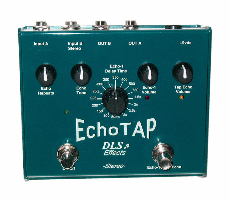 NEW DLS EFFECTS ECHO TAP DELAY EFFECTS PEDAL w  fri CABLE 0  US SHIPPING