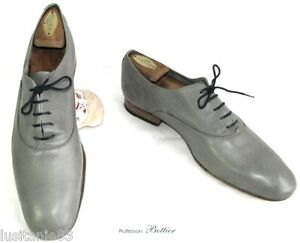 45 Leather Laces Condition Bottier Grey Good Tres All Scarpe Professione tqSZwIYI