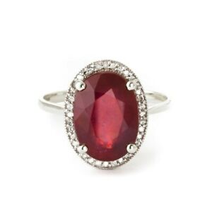 925-Silver-Natural-Certified-9-00-Carat-Ruby-With-Zircon-Gemstone-Ring