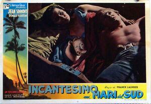 EXOTIC-AVENTURE-THE-BLUE-LAGOON-JEAN-SIMONS-1949-FOTOBUSTA-FRANK-LAUNDER