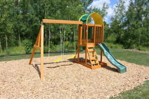 Big Backyard A24501 Belt Swing with Soft Touch Rope