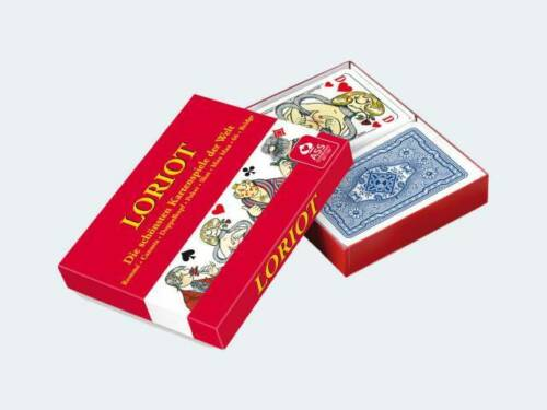 LORIOT rommekarten 2x55 cartes dans boîte