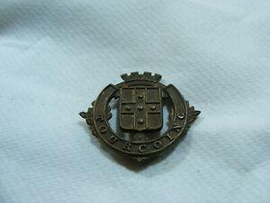 Ancien Blason De Ville Armoiries Tourcoing Écusson Plaque En Laiton 3,2 X 2,7cm Jc4n6rjq-10103156-785766297