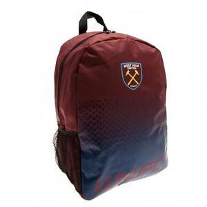 84567290f9 West Ham United Utd Fc Backpack School Bag Rucksack Holdall