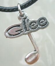 Music Note Glee Club Pendant Charm Necklace Musician Teacher Graduation Gift