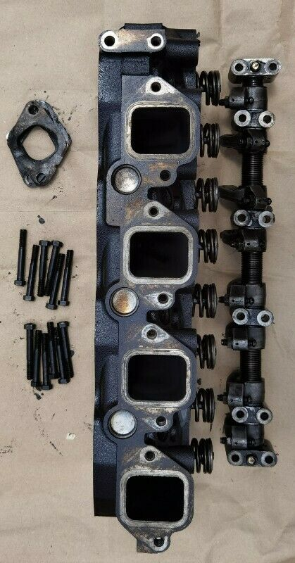 Cylinder Head Complete for Nissan QD32, now at REDUCED price R3500 or MAKE AN OFFER!!!.