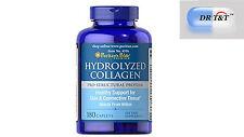 Colágeno Hidrolizado 1000 Mg/180 comprimidos pelo de la Piel Cuidado de las uñas