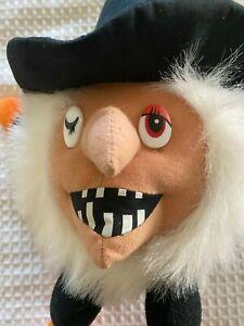 "1989 Fiesta 13"" Whimsical Small Witch Plush Soft Toy Stuffed Animal"