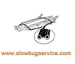 Cordiale Guarnizione Scocca /pianale Seal Chassis Vw Maggiolino, Beetle