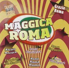 cd MAGICA ROMA AMORE GIALLO ROSSO ROMA CAPOCCIA CAMPIONI ALLO STADIO...