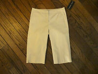 Randy Kemper Beige Capri Stretch Pants Size 4