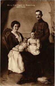 CPA-AK-Ernst-August-nebst-Familie-von-Braunschweig-GERMAN-ROYALTY-867291