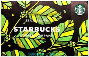 STARBUCKS-COFFEE-2017-SUMMER-LEAFS-TEA-SEATTLE-WA-6149-COLLECTIBLE-GIFT-CARD