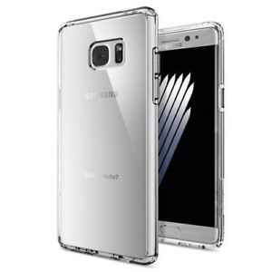 the best attitude 4038e 9a919 Details about Case SPIGEN SGP ULTRA HYBRID for Samsung Galaxy NOTE 7 FAN  EDITION - CLEAR