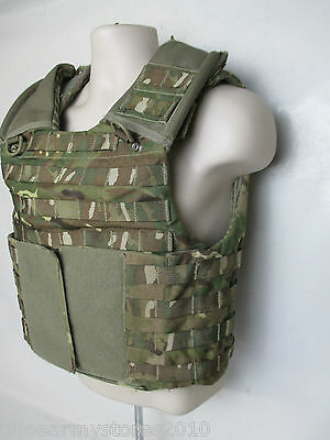 British Army MK4 MTP Camo Osprey Body Armour Cover Various Sizes Surplus