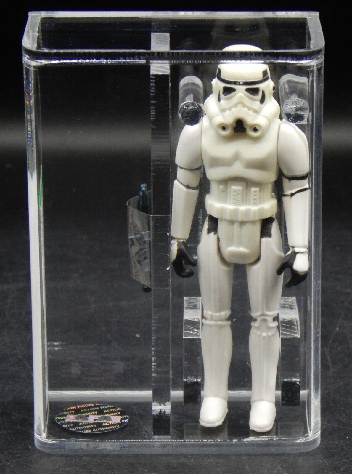 AFA 80 Star Wars Imperial STORMTROOPER Kenner 1977 vintage action figure toy