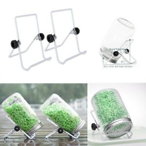 2Pcs-Foldable-Mason-Jar-Seed-Sprouting-Lid-Stand-Scaffolds-Stainless-Steel-Tool