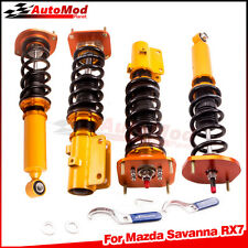 Fit Mazda RX-7 Track Drift Fully Adjustable Coilovers Shocks Springs Struts