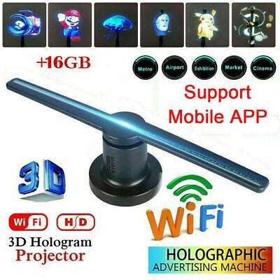 3D Hologram Advertising Fan 768p HD Wi-Fi 3D Hologram LED
