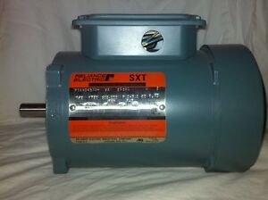 Reliance electric sxt duty master a c motor for Duty master ac motor reliance electric