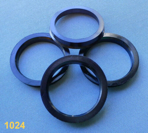 4 x anillas de centrado 69,1 mm 57,1 mm gris para llantas de aluminio 1024