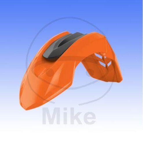 Frontkotflügel orange universal Supermoto Schutzblech KTM LC4 EXC SXC SX SXF