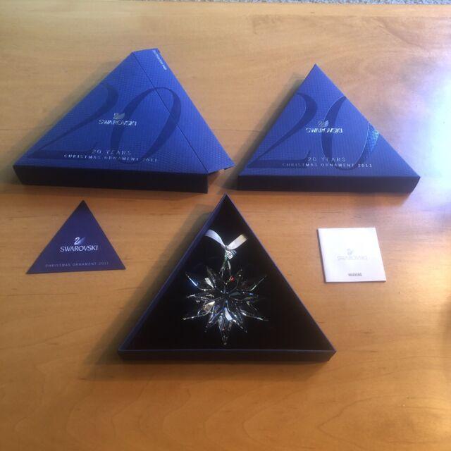 NEW Swarovski 2011 Annual Star Snowflake Christmas Holiday ...