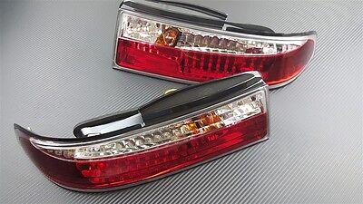 Phase 2 Cyrstal Clear LED Rear Tail Light Kit 3pcs For S14 Zenki 240SX Silvia