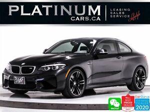 2018 BMW M2 LCI, NAV, CAM, HEATED, SUNROOF, HARMAN/KARDON