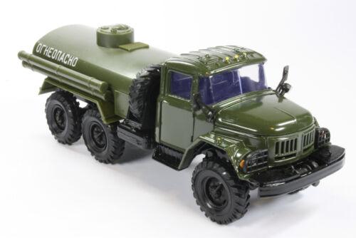 ZIL 131 camión cisterna auto modelo 1:43 USSR ostalgie kamaz Vaz RAF gaz Volga maz