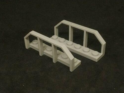 Lego Barrier Plate 1x6 Train Wagon End Original Grey x2 6583