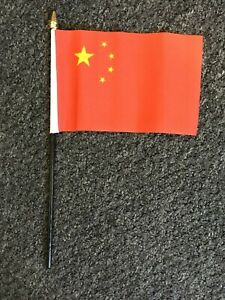 Details about Chinese Hand Flag 6x4